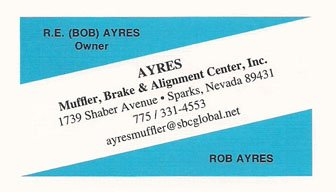 Ayres Muffler, Brake & Alignment Center, Inc.