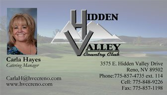 Hidden Valley Country Club, Carla Hayes
