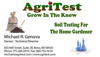 Michael Genova AgriTest