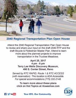 2040 RTP Open House 4-25-17