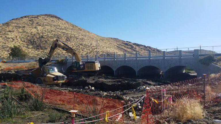 Excavation at Mira Loma Drive