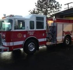 Hidden Valley Fire Truck