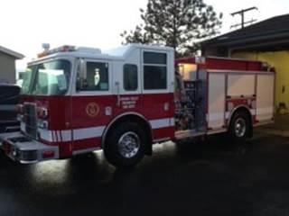 Hidden Valley Fire Truck