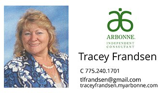 Tracey Frandsen - Arbonne Consultant