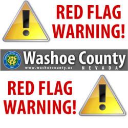 Washoe County Red Flag Warning